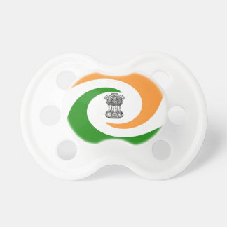 Indian flag pacifier