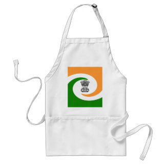 Indian flag standard apron