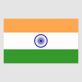 Indian* Flag Sticker