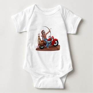 INDIAN FOREVER.PNG BABY BODYSUIT