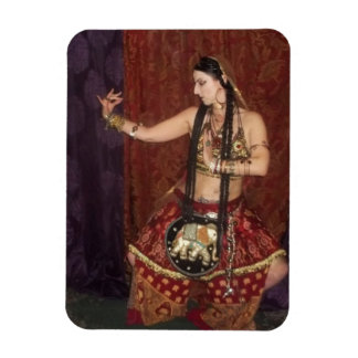 Indian Fusion Dancer Magnet