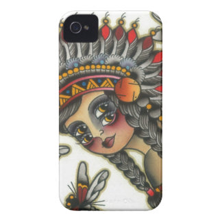 indian girl 2 iPhone 4 cases