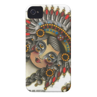 indian girl 3 iPhone 4 case