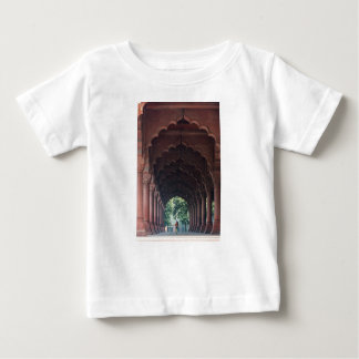 Indian Girl at Diwan-i-Aam, Red Fort, Delhi Baby T-Shirt