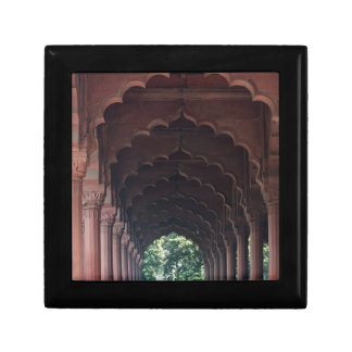 Indian Girl at Diwan-i-Aam, Red Fort, Delhi Gift Box