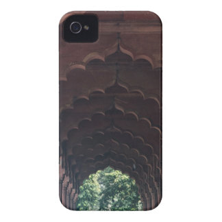 Indian Girl at Diwan-i-Aam, Red Fort, Delhi iPhone 4 Case-Mate Cases