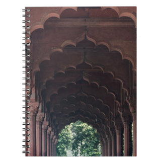 Indian Girl at Diwan-i-Aam, Red Fort, Delhi Notebooks