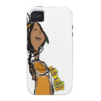 Indian Girl Case-Mate iPhone 4 Case