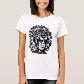 Indian Girl Illustration T-Shirt