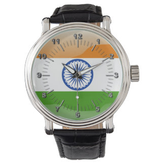 Indian glossy flag watch