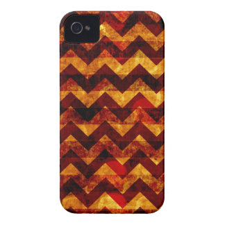 Indian Grunge Chevron iPhone 4 Case-Mate Cases