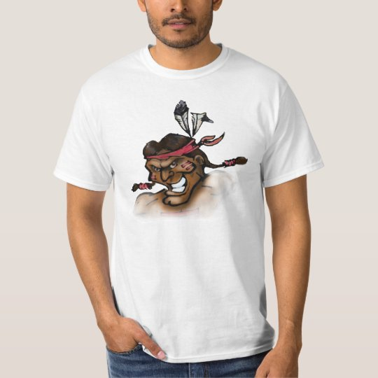 Indian Head Face T-Shirt