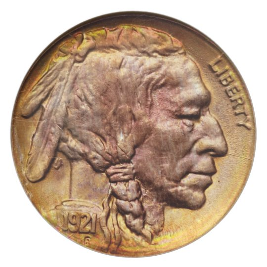 Indian Head Nickel Coin Collecting Decoration Plate