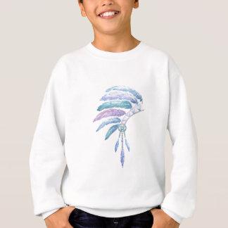 Indian Headdress in Watercolour Sweatshirt