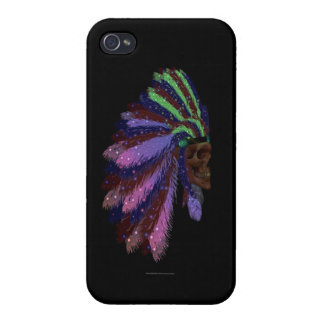 Indian Headdress iPhone 4/4S Covers