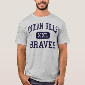 Indian Hills - Braves - High - Oakland New Jersey T-Shirt