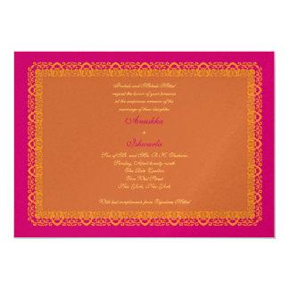 indian hindu muslim wedding invitation mehndi - Muslim Wedding Invitations