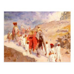 Indian Hunting Party by Edwin Lord Weeks Post Cards