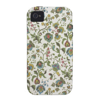 Indian-inspired, floral design wallpaper, 1965-75 vibe iPhone 4 covers