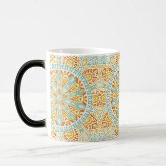 Indian Kaleidoscope Art Magic Mug