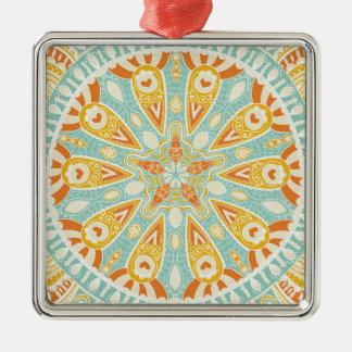 Indian Kaleidoscope Art Metal Ornament
