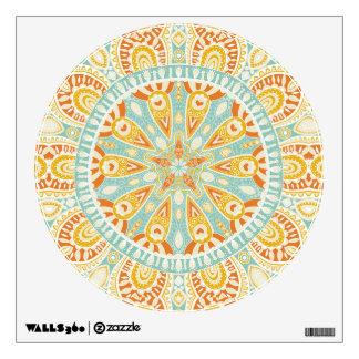Indian Kaleidoscope Art Wall Sticker