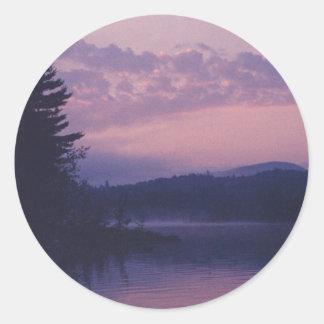 Indian Lake, Adirondack Park, NY Classic Round Sticker