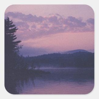 Indian Lake, Adirondack Park, NY Square Sticker
