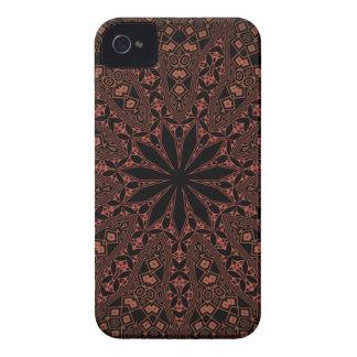 indian mandala pattern iPhone 4 Case-Mate cases