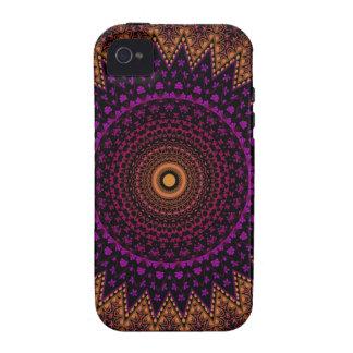 indian mehndi mandala pattern iPhone 4 cover