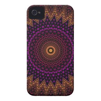 indian mehndi mandala pattern iPhone 4 case