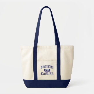 Indian Mound - Eagles - High - Sparta Tennessee Canvas Bags
