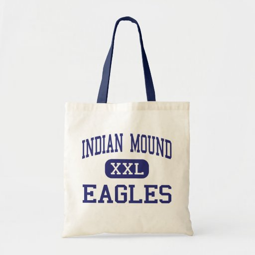Indian Mound - Eagles - High - Sparta Tennessee Tote Bags