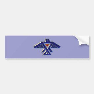Indian native american anishinabe ojibwe ojibwa bumper sticker