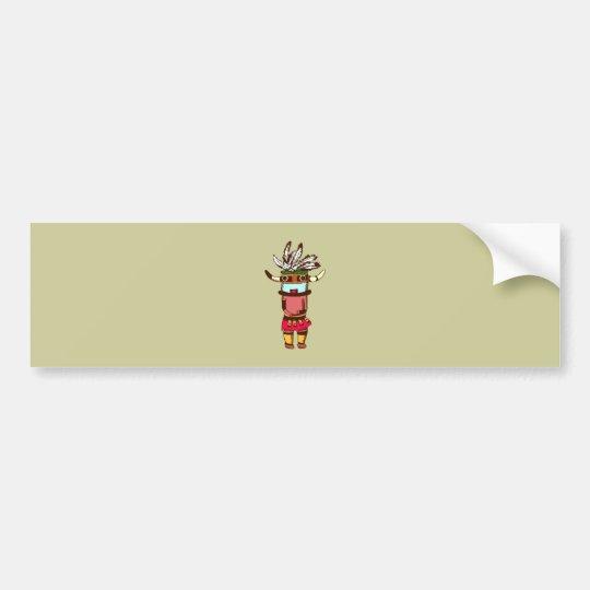 Indian native American shaman shaman Bumper Sticker