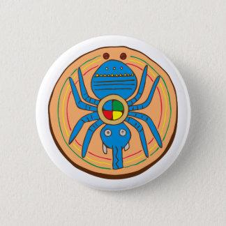 Indian native American spider SPI that 2 Inch Round Button