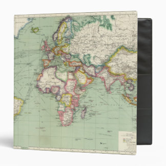 Indian Ocean, Atlantic Ocean Vinyl Binders
