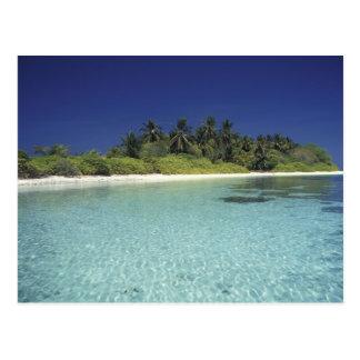 Indian Ocean, Maldive islands. (MR) Postcard