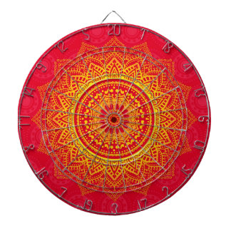 Indian ornament dartboard