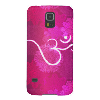 Indian ornament pattern with ohm symbol galaxy s5 cover