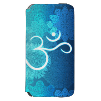 Indian ornament pattern with ohm symbol incipio watson™ iPhone 6 wallet case