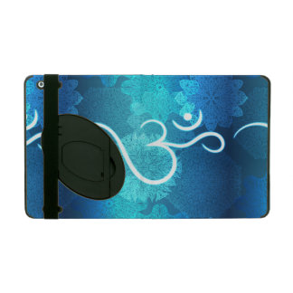 Indian ornament pattern with ohm symbol iPad case