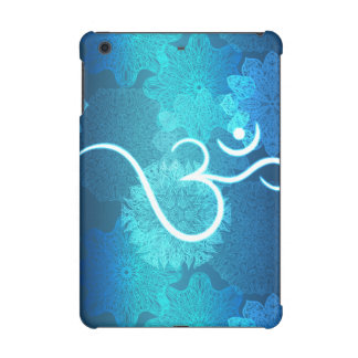 Indian ornament pattern with ohm symbol iPad mini cover