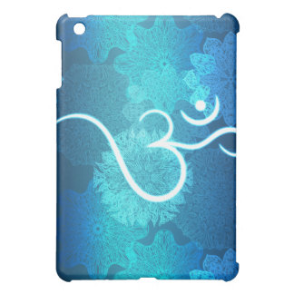 Indian ornament pattern with ohm symbol iPad mini covers