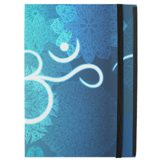 "Indian ornament pattern with ohm symbol iPad pro 12.9"" case"