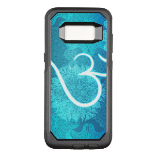Indian ornament pattern with ohm symbol OtterBox commuter samsung galaxy s8 case