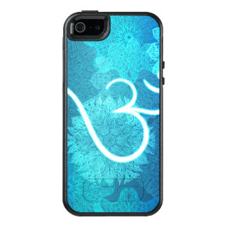 Indian ornament pattern with ohm symbol OtterBox iPhone 5/5s/SE case