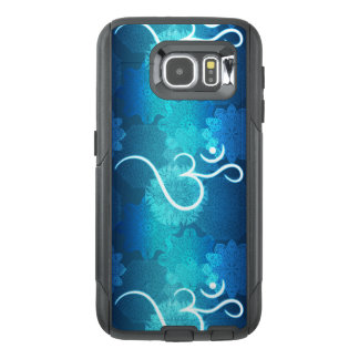 Indian ornament pattern with ohm symbol OtterBox samsung galaxy s6 case