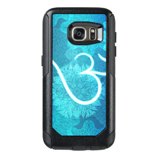 Indian ornament pattern with ohm symbol OtterBox samsung galaxy s7 case