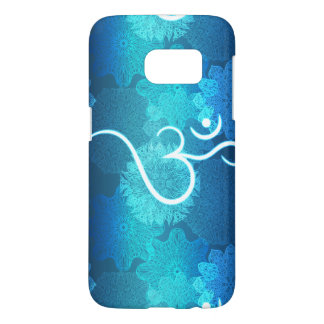 Indian ornament pattern with ohm symbol samsung galaxy s7 case
